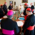 Pope, cardinal council begin work on reorganizing Roman Curia