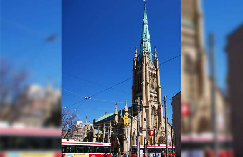 """Pilgrims Together,"" a celebration of the 50th anniversary of the Second Vatican Council's Decree on Ecumenism, will begin at St. James Anglican Cathedral in Toronto Nov. 9."
