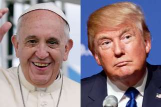 Vatican says it make a meeting  U.S. President Donald Trump, who will be in Italy May 26-27 for the Group of Seven summit.   Vatican says it will try to make it work if U.S. President Donald Trump, who will be in Italy May 26-27 for the G-7 Summit, requests a meeting with Pope Francis.