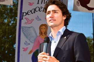 Liberal Leader Justin Trudeau's announcement that going forward all wanting to run for his party must be pro-choice was immediately condemned by Cardinal Thomas Collins and Edmonton Archbishop Richard Smith.