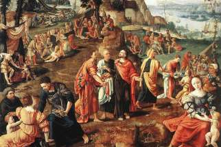 The Miracle of the Loaves and Fishes by Lambert Lombard, 1505–1566