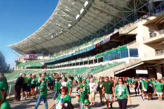 Mosaic Stadium in Regina is the cathedral (of sorts) for the Saskatchewan Roughriders.
