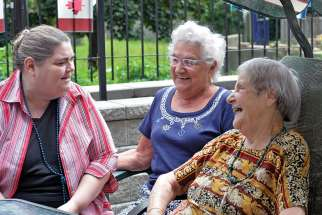 The Centre D'acceuil Heritage provides companionship and assistance to the French-speaking elderly in Toronto.