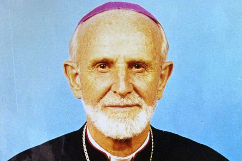 Father Guyo Waqo was among five people found guilty and sentenced to death for the 2005 slaying of Italian Bishop Luigi Locati (pictured).