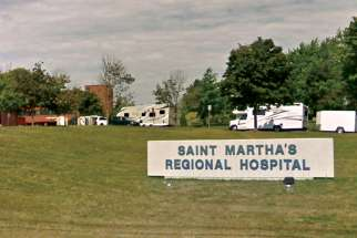 Media reports said the policy of St. Martha's Hospital in Antigonish, N.S., was being changed to offer assisted suicide in the hospital.