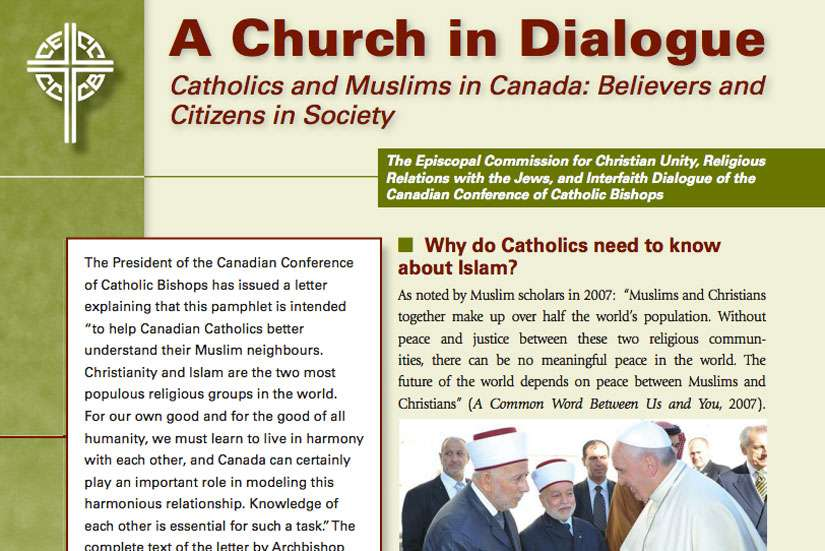 The Canadian Conference of Catholic Bishops published a new resource to help Canadian Catholics understand their Muslim neighbours who celebrate the end of Ramadan (Ed al-Fitr). This is the first time the CCCB published a resource on relations between Catholics and Muslims.