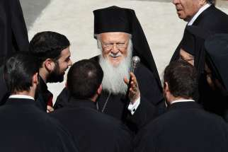 Ecumenical Patriarch Bartholomew, seen here in 2013, calls on Orthodox leaders to attend the Holy Council.