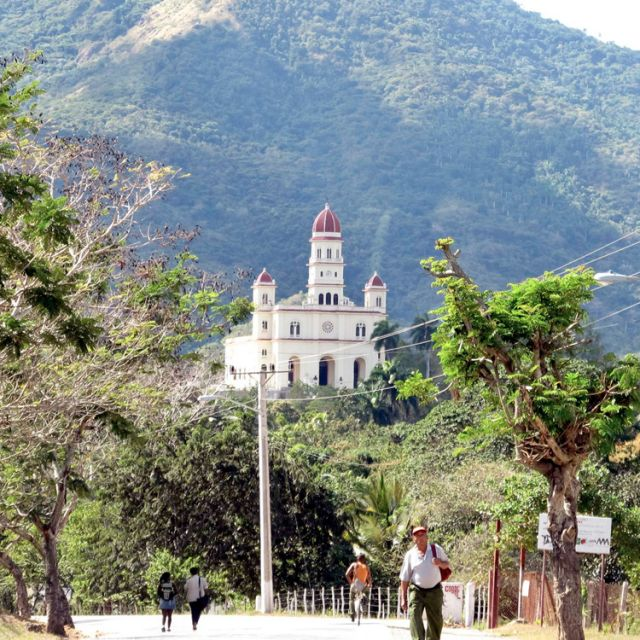 The shrine of Our Lady of Charity of El Cobre in Santiago de Cuba. Pope Benedict XVI will pray at the shrine March 27 during his visit to Mexico and Cuba March 23-28.