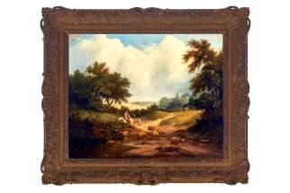 Edward Williams' 17th-century oil painting Wooden landscape with horseman and sheep watering was a prized possession of the late Cardinal Aloysius Ambrozic, above ledt. It was bequeathed to the Archdiocese of Toronto after the cardinal's death in 2011 and later sold at auction.