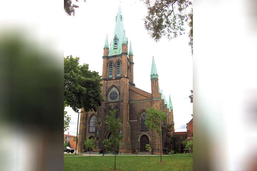 "After doing its ""due diligence,"" the London Diocese has turned down a donation that would help restore Windsor, Ont.'s Our Lady of the Assumption Church."