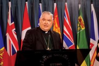 "Archbishop Richard Gagnon sees his role as CCCB president to ""facilitate the decisions."""