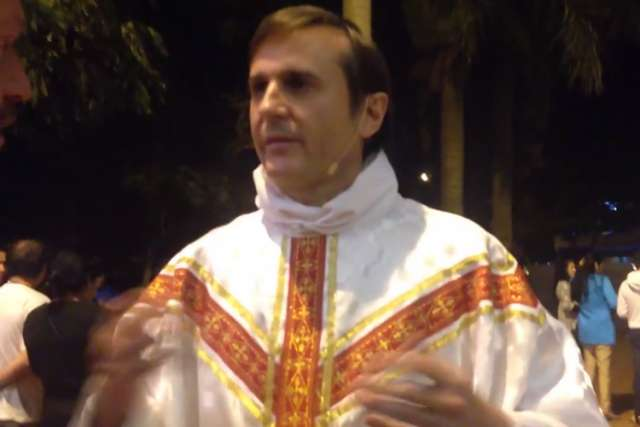 Pope Francis sent a papal delegation in July to Paraguay to investigate the activities of the Rev. Carlos Urrutigoity (pictured), a priest accused of sex abuse in Pennsylvania, and on July 30 the Vatican removed him from his position.