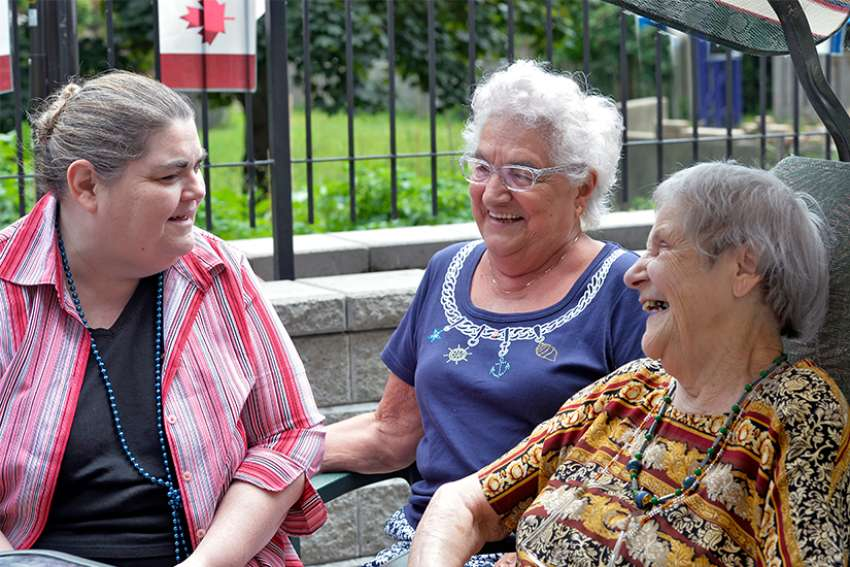 Community members of the The Centre D'acceuil Heritage receive support from ShareLife. The centre provides companionship and assistance to the French-speaking elderly in Toronto.