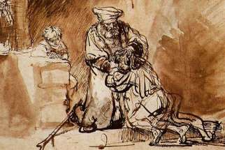 The Return of the Prodigal Son (1642) by Rembrandt