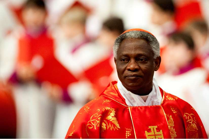 Cardinal Peter Turkson said that Pope Francis is publishing the encyclical on the environment to remind people that their choices are moral in nature when it comes to creation.