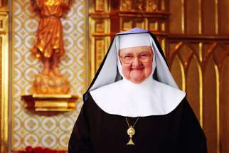 Mother Angelica, founder of Eternal Word Television Network, died at age 92 March 27 at the Poor Clares of Perpetual Adoration monastery in Hanceville, Ala. She is pictured in an undated photo.