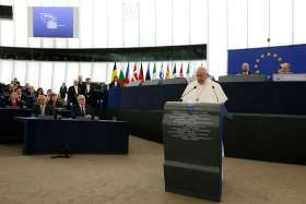 Pope Francis urges Europeans to reject 'throwaway culture'