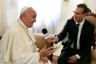 In a new interview with a Los Angeles Spanish news outlet, Pope Francis says the laity should go out and evangelize, or buy mothballs.