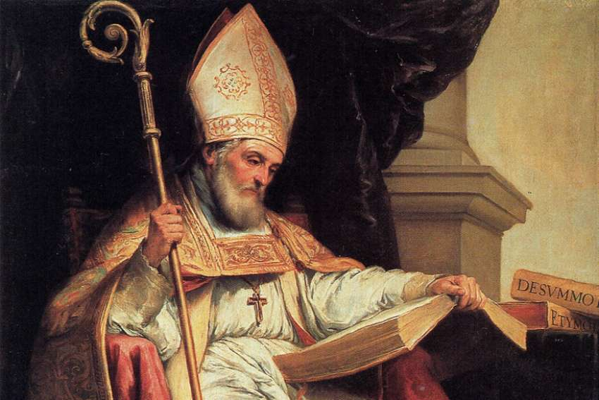 St. Isidore of Seville, bishop and doctor of the Church, was named the patron saint of the internet by Pope John Paul II in 1997.