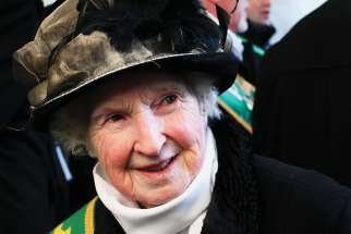 Margaret Healy wore her Irish-Catholic roots proudly in Montreal.