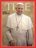 The cover of Time magazine's Person of the Year issue, featuring Pope Francis, is pictured in this Dec. 11 handout photo.