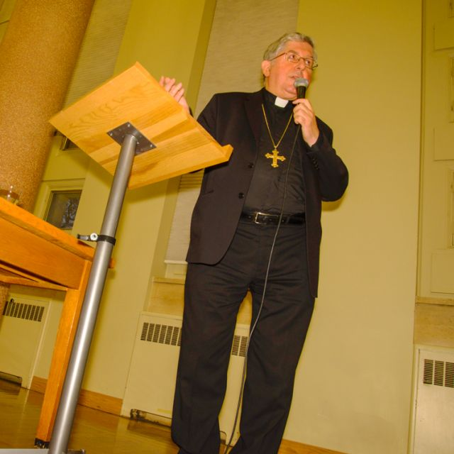 Cardinal Thomas Collins said that the new evangelization isn't about condemning our culture but healing it.