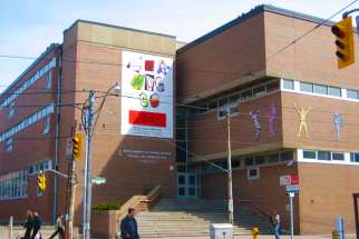 A file photo of Bishop Marrocco/Thomas Merton Catholic Secondary School in West Toronto from 2009. TCDSB is getting a large injection of cash from the province for renewal projects over the next two years.