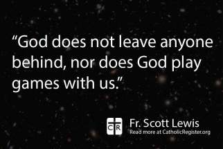 Jesus sought the lost and reminded them they are also children of God, writes Fr. Scott Lewis.