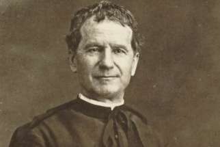 The relic of Saint John Bosco, tiny fragments of his brain, was stolen from the Don Bosco Basilica June 2. Pilgrims gathered at the church Sunday (June 4) to pray for its return.