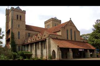 All Saints Cathedral in Kenya's capital, Nairobi