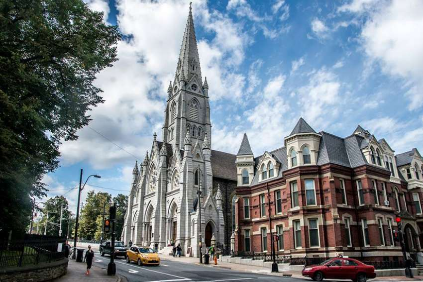St. Mary's Cathedral Basilica in Halifax, Nova Scotia.