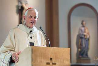 "Cardinal Donald W. Wuerl of Washington is pictured in an undated photo. Addressing the crisis that the Catholic Church is facing following this summer's revelations of clergy sexual abuse, Cardinal Wuerl at a Sept. 2 Mass at Annunciation Parish in Washington said moving forward and purifying the church will require ""wider lay engagement, more realized accountability and evident transparency."""