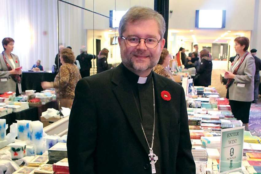 Montreal bishop Thomas Dowd, top, says the large number of non-practising English Catholics in the archdiocese is affecting English parishes and up to 14 may be forced to close.
