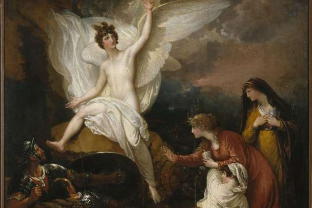 Benjamin West's The Angel at the Tomb of Christ