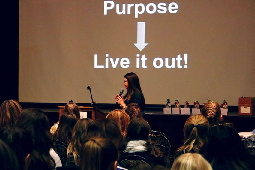 Seventeen-year-old Juliana Markelj shares about finding true purpose as a girl in the 21st century.