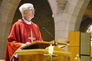 Fr. Martin Carroll, rector at St. Joseph's Basilica in Edmonton, celebrated 50 years in the priesthood in March and retires this summer.