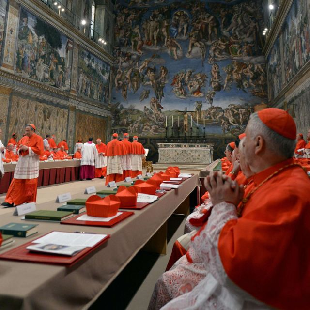 Sequestered by conclave, cardinals missed births, rain, cellphones