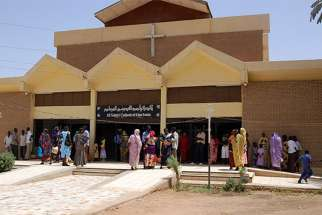 All Saints' Cathedral in Khartoum is an Anglican church and one of the houses of worship that the Sudanese government says is enough to serve the remaining Christian population.