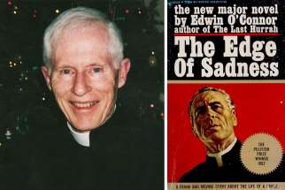 "Msgr. Gregory Haddock (left), a priest of the Prelature of Opus Dei, died on January 4, 2018 in Toronto. Charles Lewis attended Fr. Haddock's funeral and parallels his life to the 1962 Pulitzer Prize winner ""The Edge of Sadness""."
