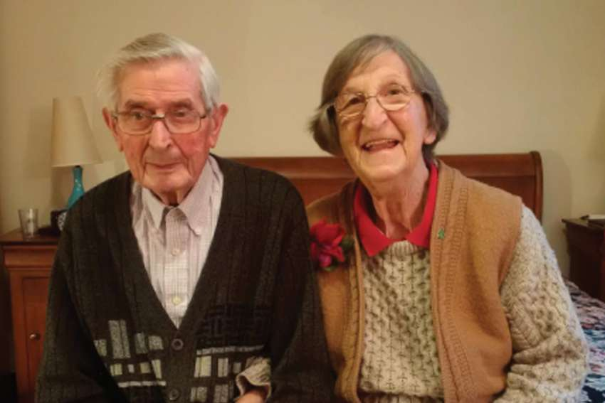 Brendan and Anne Clarke met in England before uprooting and coming to Canada. Brendan died recently but not without remembering the Church that gave his life structure.