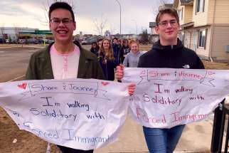 Holy Trinity's students and staff embraced the Share the Journey program, walking over 20,000 kilometres to help refugees.