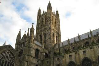 Canterbury Cathedral, the mother church of the international Anglican Communion, in Canterbury, England. The Anglican Communion voted to censure its American branch, the Episcopal Church, during a meeting in Canterbury, England, called to reflect on the future of the communion.