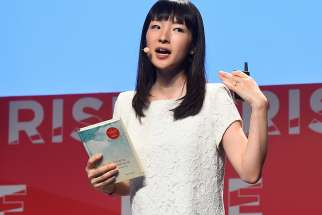 Marie Kondo speaks at the RISE Conference 2016.