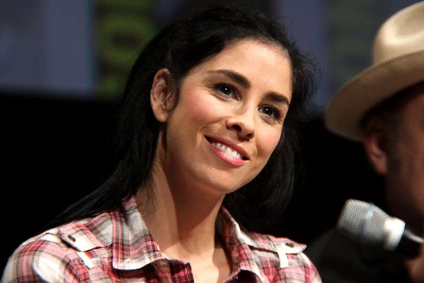 Sarah Silverman's new series on streaming service Hulu is called I Love You, America and it aims to bring people together, not drive them apart.