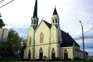 Sacred Heart Church is one of two parishes in Sydney, N.S., which will close this month.