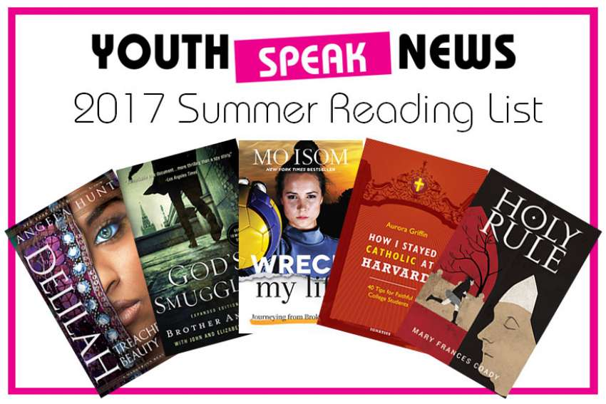 The Youth Speak News team have put together a list of faith-based youth titles that we think young booklovers might enjoy for summer reading.