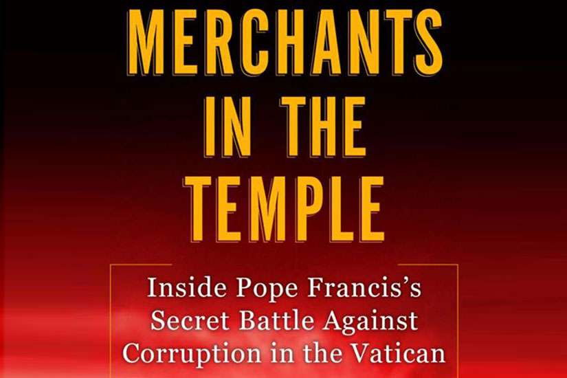 Merchants in the Temple is Italain journalist Gianluigi Nuzzi's second book based on leaked documents from the Vatican. Photo courtesy of Catholic News Service.