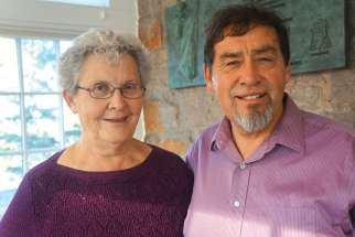 Germaine and Harry Lafond's reconciliation with the Catholic Church has been a life long journey.