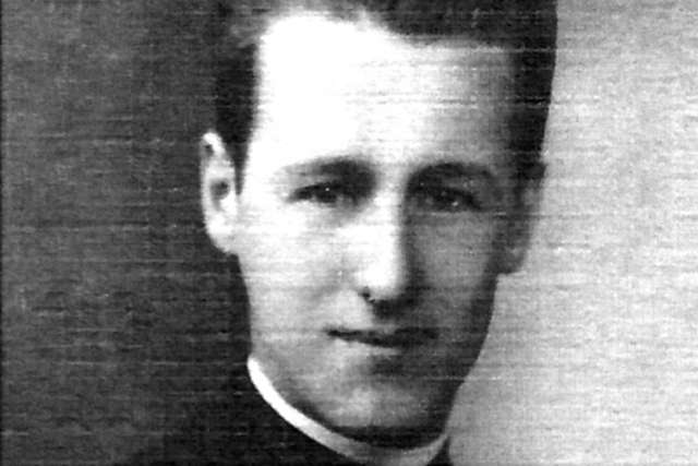 Fr. Edwin Platt, seen in a photo from 1948, donated his family home to the Church in hopes that it could fund a retirement residence for priests in the Archdiocese of Toronto.
