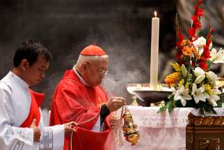 Retired Cardinal Ricardo Vidal of Cebu, Philippines, pictured in a 2012 photo at the Vatican, died Oct. 18 at the age of 86 after a series of health complications.